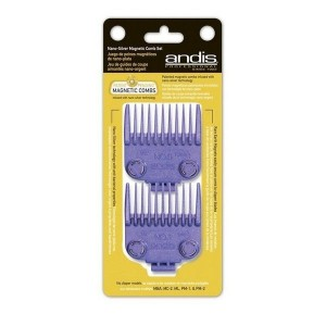 PACK 2 PEINES ANDIS MAGNETICOS 2.4 - 4.5 mm
