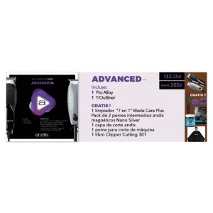 PACK ANDIS ADVANCED