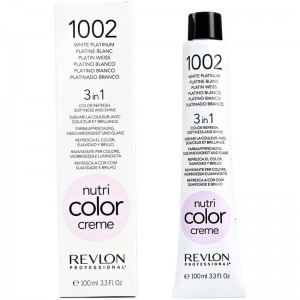 REVLON NUTRI COLOR 1002 (PLATINO BLANCO) 100 ml.