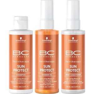 BC SUN OIL PROTECT SHIMMER 150ML