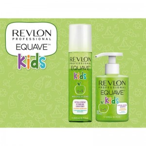 REVLON EQUAVE KIDS APPLE DET COND 200ML
