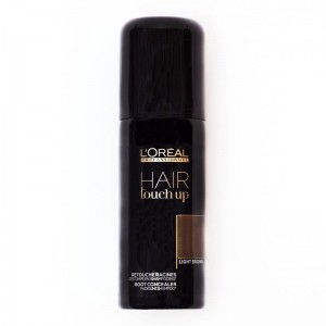 LOREAL CUBRECANAS HAIR TOUCH LIGHT BROWN 75 ml.
