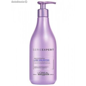 CHAMPU LOREAL EXPERT LISS UNLIMITED 500 ml.