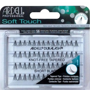 ARDELL PESTAÑAS INDIVIDUALES SOFT TOUCH KNOT-FREE SHORT BLACK