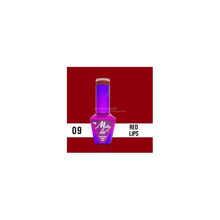 MOLLY GLAMOUR WOMEN 09 RED LIPS 10ml