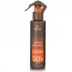 PROTECTOR SOLAR ARUAL SPF 50 EN SPRAY 200ml
